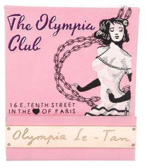 Olympia Le-Tan Cub Olympia Matchbook Clutch