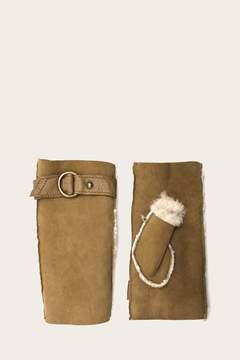 Frye | Womens Fingerless Harness Glove | Xl | Camel