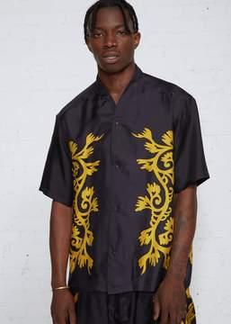 SASQUATCHfabrix. Wa-neck Silk Shirt