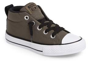 Converse Chuck Taylor(R) All Star(R) Basket Weave Street Mid Sneaker (Toddler, Little Kid & Big Kid)
