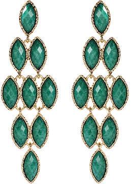 Amrita Singh Teal Easter Jocasta Drop Earrings