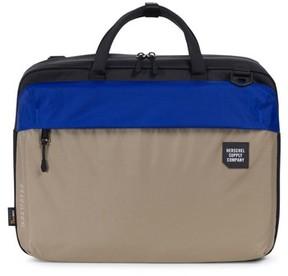 Herschel Men's Britannia Trail Collection Convertible Messenger Bag - Beige