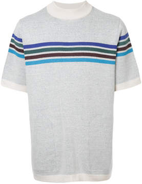 Sacai striped sweater tee