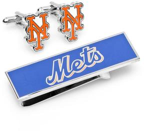 Ice New York Mets Cufflinks and Money Clip Gift Set