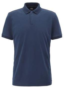 BOSS Hugo Cotton Polo Shirt, Regular Fit Pohl XXL Dark Blue