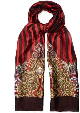 Etro Paisley-jacquard scarf
