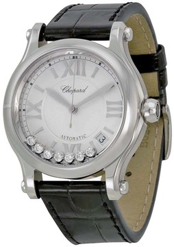 Chopard Happy Sport Automatic Silver Dial Ladies Watch