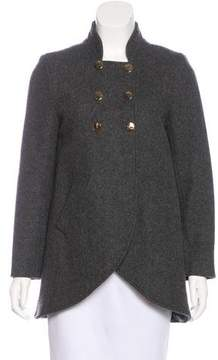 Steven Alan Double-Breasted Wool Coat