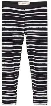 MANGO Printed cotton leggings