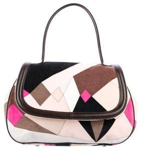 Emilio Pucci Printed Terry Cloth Bag