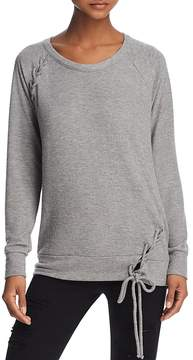 Chaser Lace-Up Sweatshirt