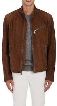 Ralph Lauren Purple Label Men's Randall Suede Moto Jacket