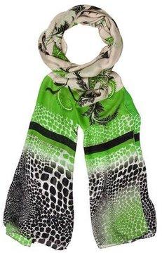Roberto Cavalli Silk Printed Scarf