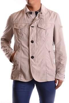 Peuterey Men's Beige Polyester Outerwear Jacket.