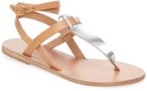 Ancient Greek Sandals Women's Estia Ankle-Wrap Thong Sandal