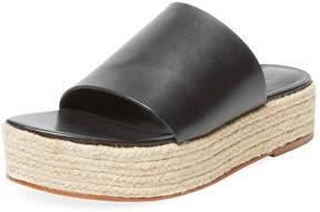 Tibi Women's Masha Leather Platform Sandal