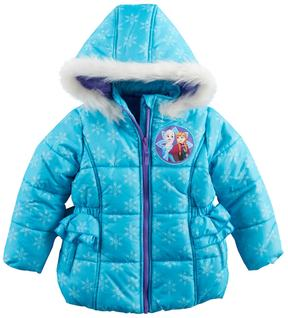 Disney Disney's Frozen Anna & Elsa Toddler Girl Heavyweight Jacket