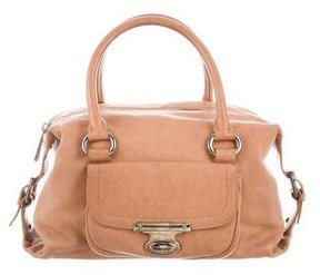 Marc Jacobs Leather Handle Bag - BROWN - STYLE