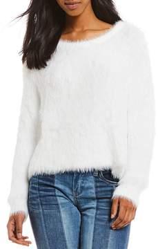 Chelsea & Violet Slouchy Fuzzy Eyelash Sweater
