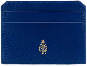 Mark Cross logo stamp cardholder