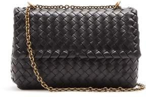 Bottega Veneta Baby Olimpia intrecciato-leather cross-body bag