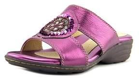 Softspots Kory Women W Open Toe Leather Sandals.