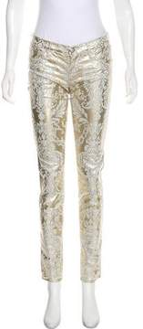 Juicy Couture Embellished Low-Rise Pants w/ Tags