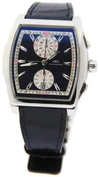 IWC IW376404 Da Vinci Flyback Chronograph Laureus Stainless Steel Mens Watch