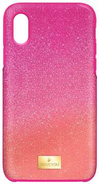 Swarovski High Ombre Smartphone Case with Bumper, iPhone? X, Pink