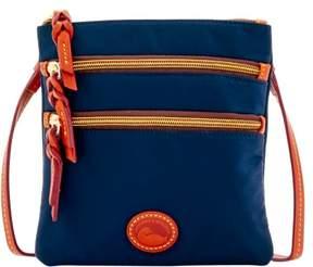 Dooney & Bourke Nylon North South Triple Zip Shoulder Bag - NAVY - STYLE