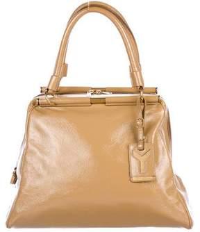 Saint Laurent Patent Leather Majorelle Bag