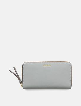 Saffiano Large Zip Wallet