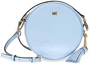 Michael Kors Mercer Medium Canteen Crossbody Bag- Pale Blue - ONE COLOR - STYLE