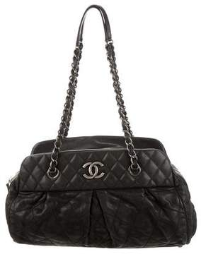 Chanel Chic Quilt Bowling Bag
