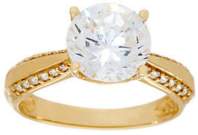 Diamonique As Is 3.00 ct Solitaire Ring, 14K