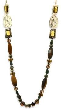 Alexis Bittar Elements Semi-Precious Multi-Stone Beaded Necklace/40