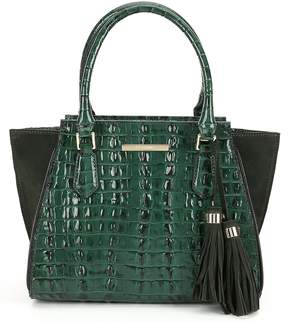 Brahmin Moore Collection Colorblock Mini Priscilla Satchel
