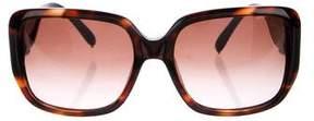 Chloé Square Oversize Sunglasses