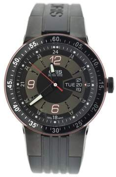Oris Williams 7634 Black DLC Stainless Steel & Rubber Automatic 44mm Mens Watch