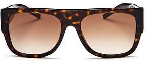 Saint Laurent M16 Square Sunglasses, 55mm