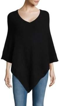 Design History Asymmetrical Cashmere Poncho