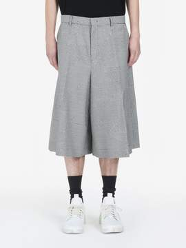 McQ Patchwork Dogtooth Volume Shorts