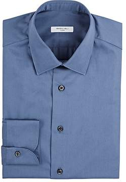 Boglioli Men's Cotton Poplin Dress Shirt