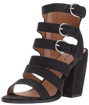 Qupid Womens Lost-13x Open Toe Casual Strappy Sandals.