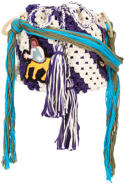 Peter Pilotto Pilotto x Francis Upritchard Embroidered Centaur bag