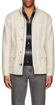 James Perse MEN'S COTTON-LINEN UTILITY JACKET