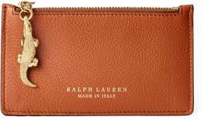 Ralph Lauren Calfskin Mini Zip Pouch