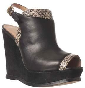 Kenneth Cole Creme Fillings Wedge Pump Heels
