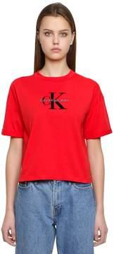 Calvin Klein Jeans True Icon Cotton Jersey T-Shirt