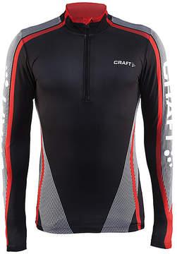 Craft Black & Red Race Jersey Half-Zip Sweatshirt - Men
